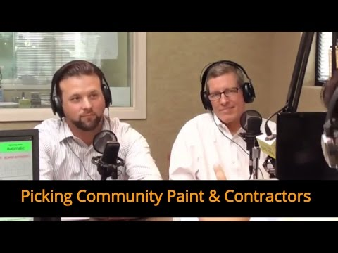 Picking Community Paint & Contractors - The Condo Coaches