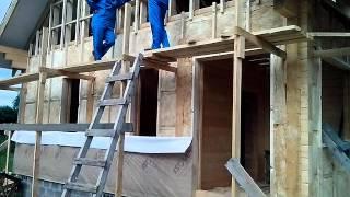 Теплый дом из клееного бруса от ООО