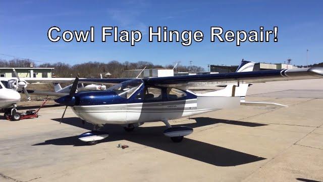 Cessna Cowl Flap Repair