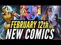 NEW COMIC BOOKS RELEASING FEBRUARY 12th 2020 MARVEL & DC COMICS PREVIEW COMING OUT THIS WEEKS PICKS