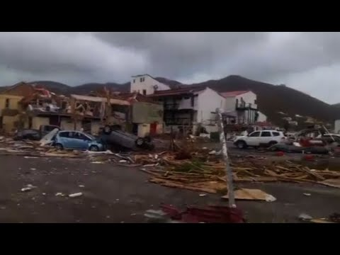 Heartache in British Virgin Islands After Irma