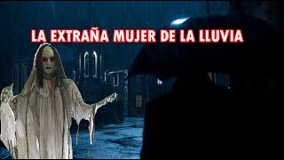 LA EXTRAÑA MUJER DE LA LLUVIA (relato)