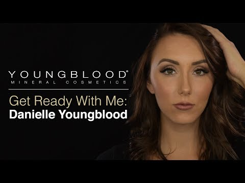 Evening Makeup Tutorial - Get Ready With Danielle Youngblood | Youngblood Mineral Cosmetics