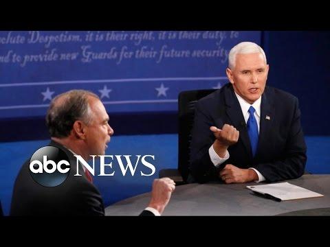 VP Candidates Go on Attack in Debate Showdown