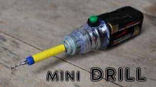 How to make a Mini Drill Machine   Very cheap