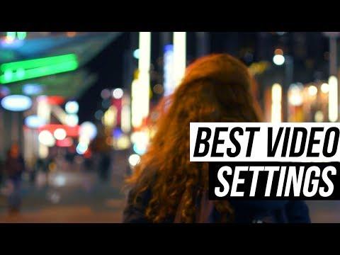 BEST Video Settings for DSLR (Nikon D5200/D5300/D5500) TUTORIAL 3