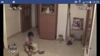 Kızı korkunca odalara kamera koyan baba, Korkunç görüntüler kaydetti (+18)
