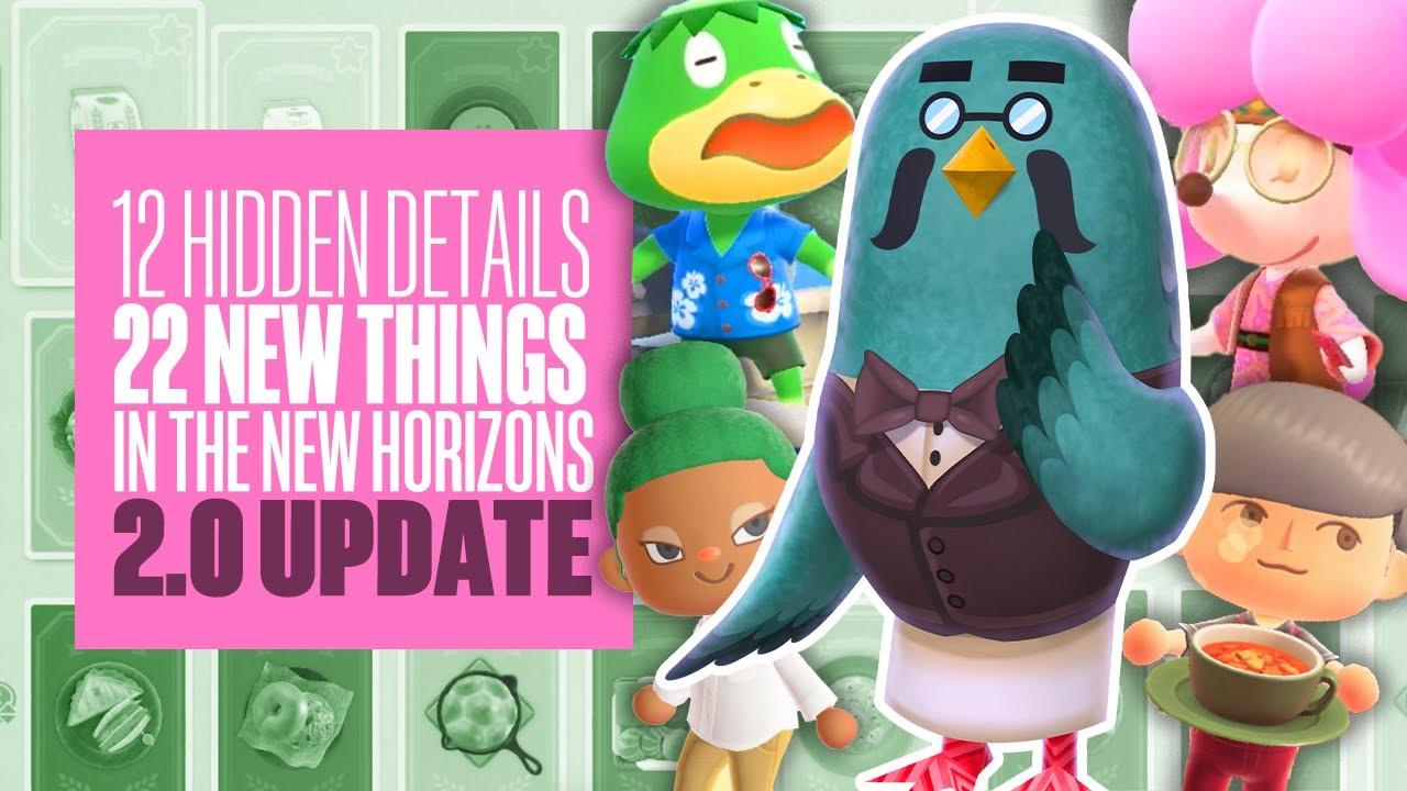 12 Hidden Details & 25 New Things In The Animal Crossing New Horizons Update 2.0 - Eurogamer
