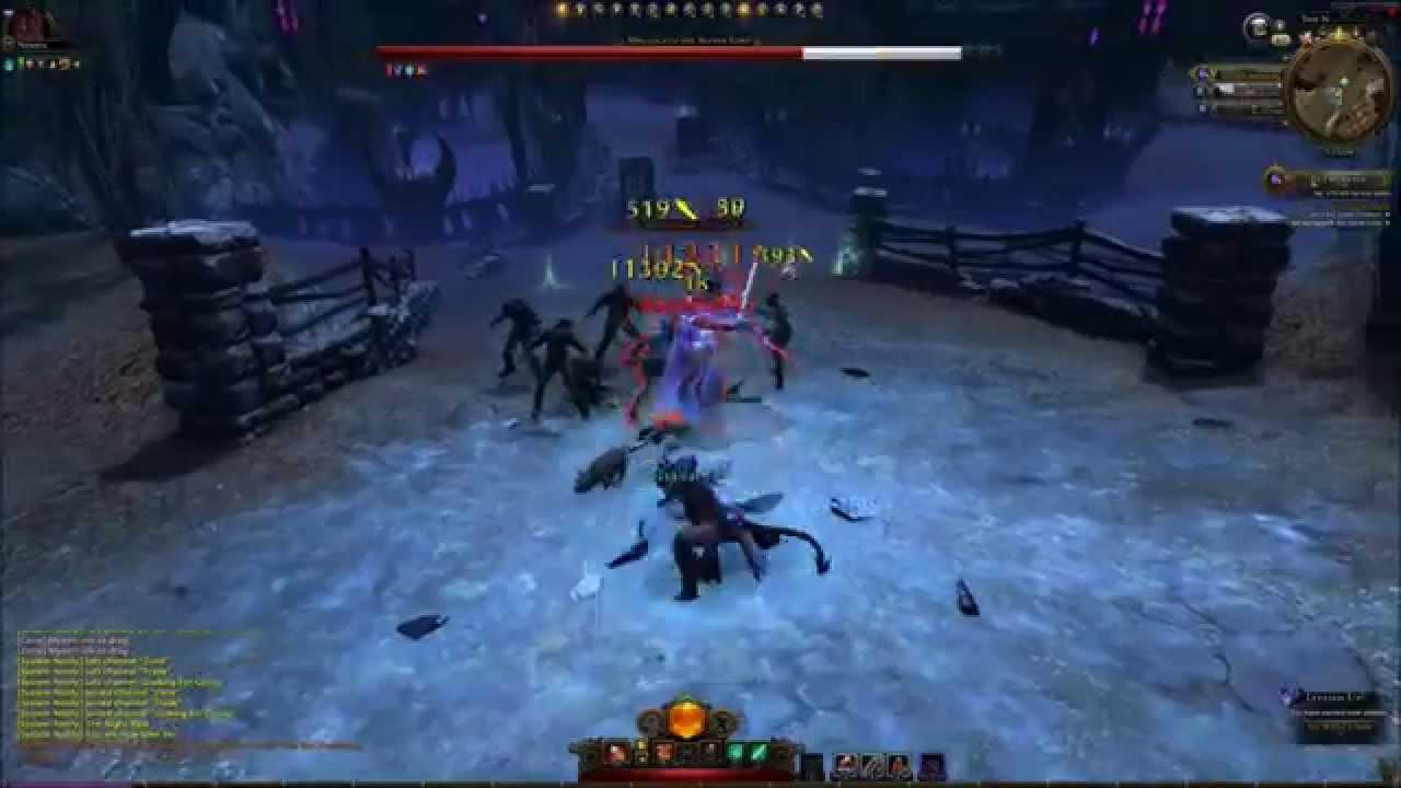 neverwinter online control wizard gameplay 2015 youtube