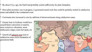 Historical Geology, Archean, rocks & early life