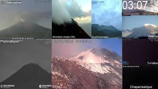 2/1/2019 - Volcano MultiView TimeLapse thumbnail