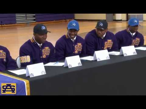 St. Aug Football National Signing Day (2-7-2018)
