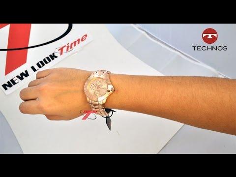 Relógio Feminino da TECHNOS 6P89HV 4T - YouTube ac4b84d8af