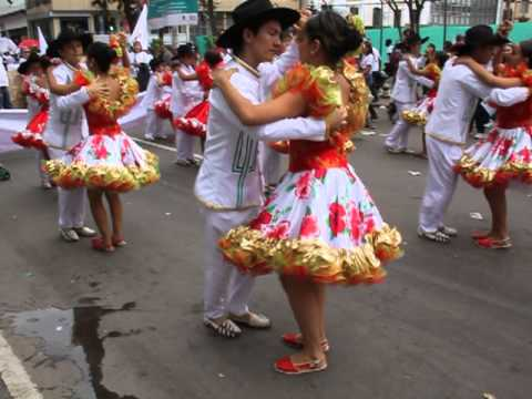 Joropo, baile tradicional de los Llanos orientales (Colombia y Venezuela)