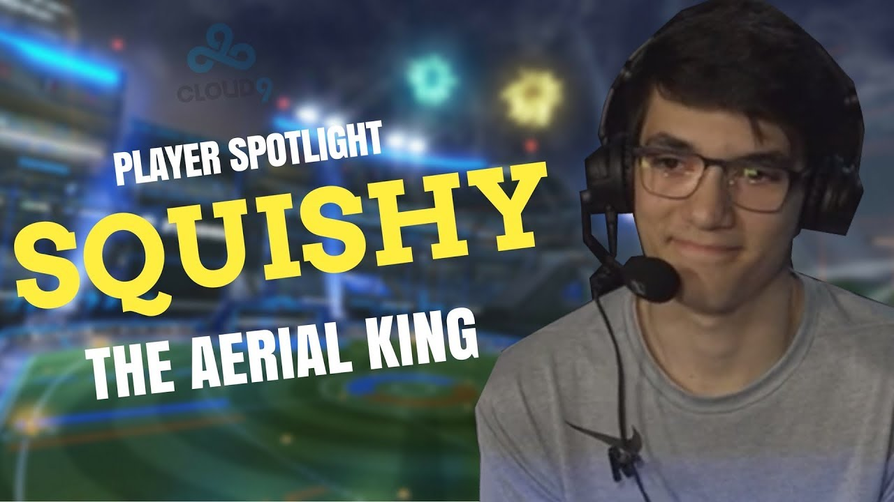 Player Spotlight: Squishy The Aerial King - Rocket League - YouTube