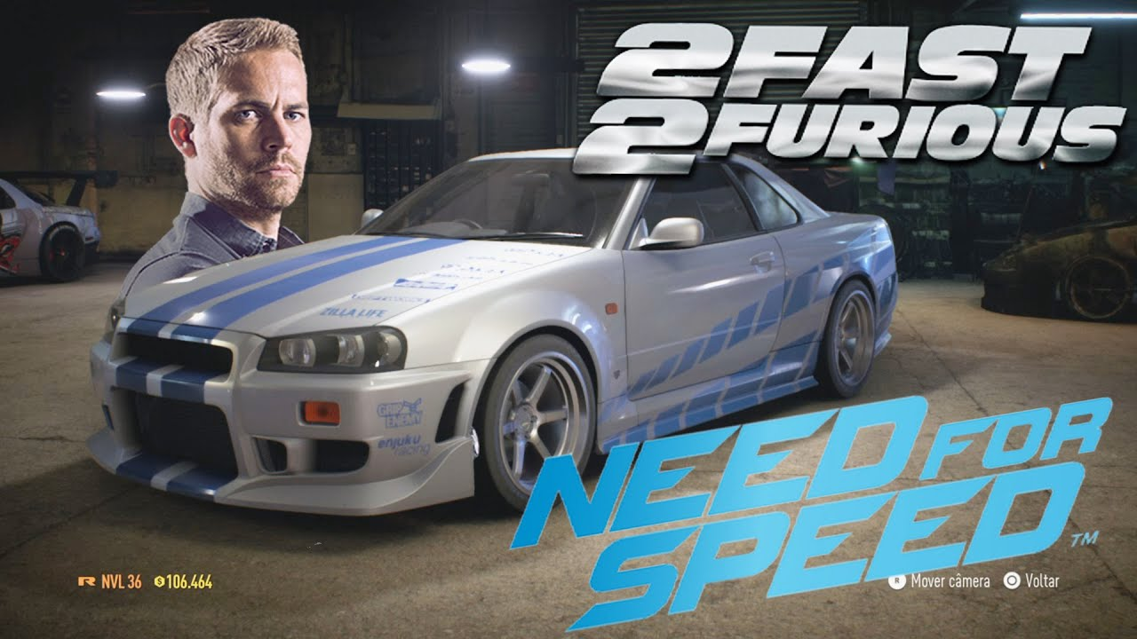 2fast Amp 2furious Brian S Skyline R34 On Need For Speed