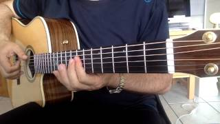 "Acoustic "" CHIQUITITA ABBA "" Guitar Cover"