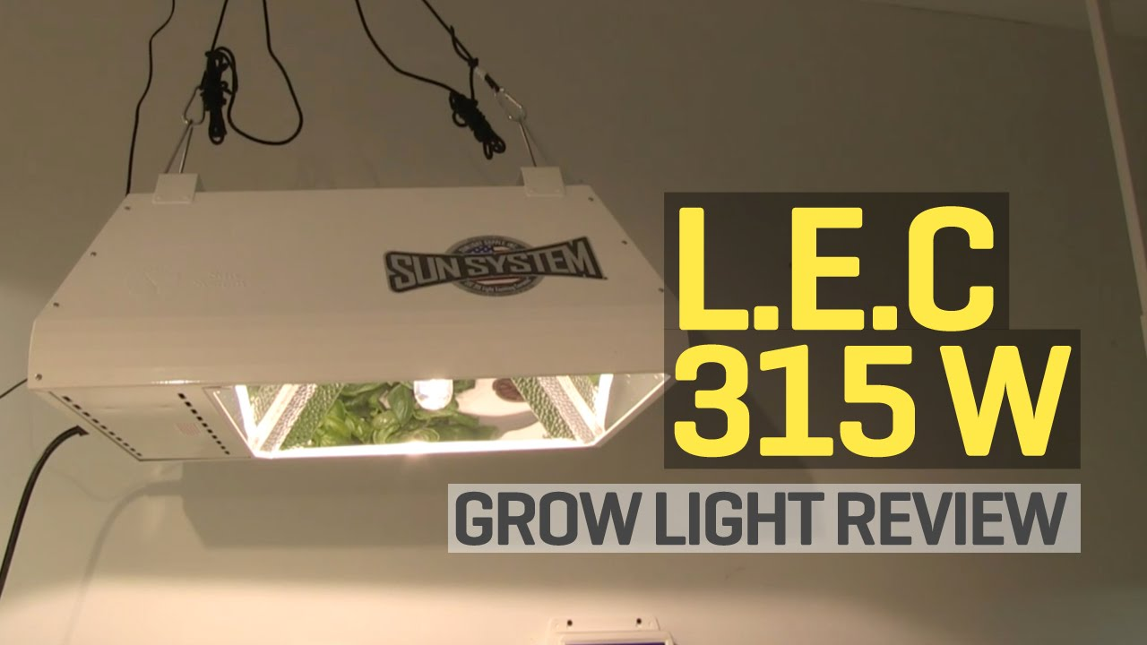 light config lec ss system grow sun etelligent watt kit