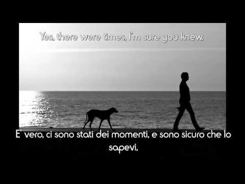 Frank Sinatra - My way [ENG + TRADUZIONE ITA] LYRICS on SCREEN