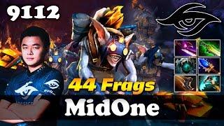 MidOne Meepo 44 Frags   9112 MMR Dota 2