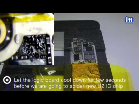 huge selection of fa4cf 6fc97 iPhone 7 charging IC replacement - YouTube