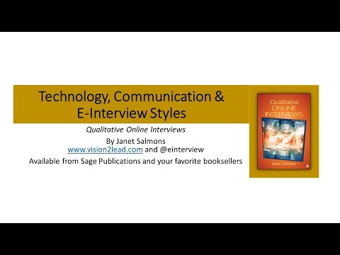 Technology, Communication and E Interview Structures