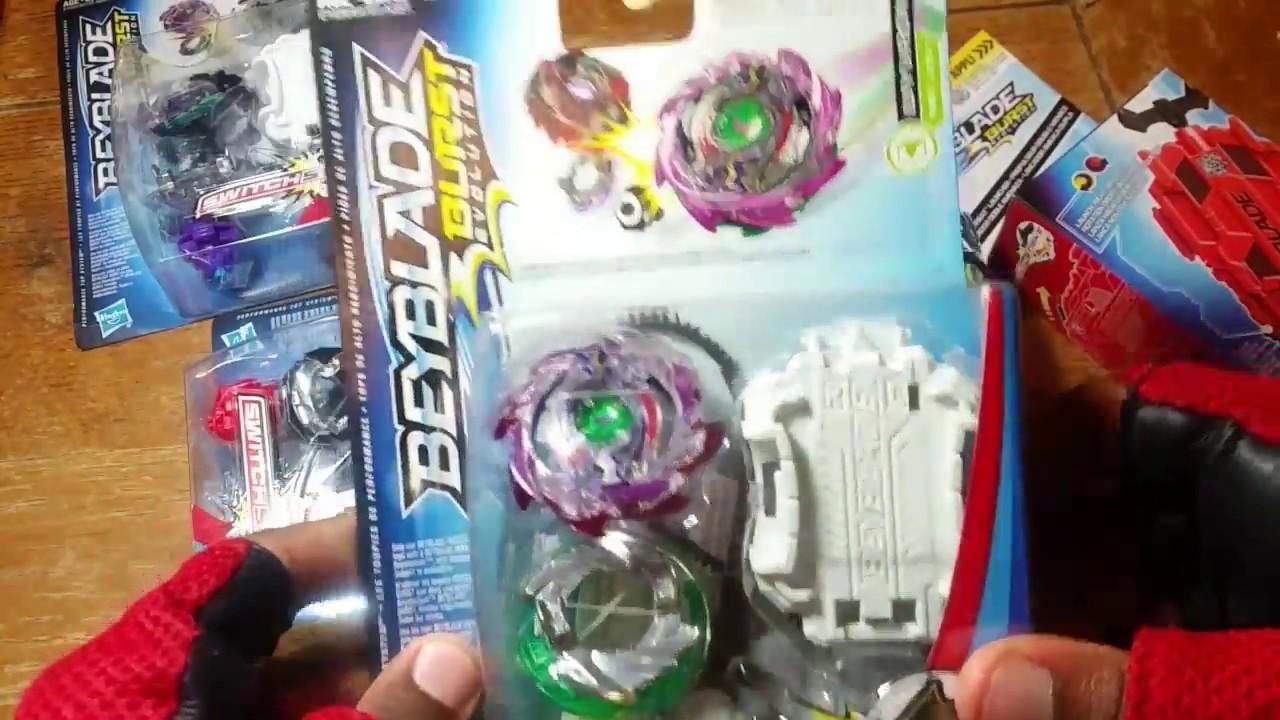 Ilinnuc Epic Hasbro Beyblade Burst Evolution Switch Strike Unboxing