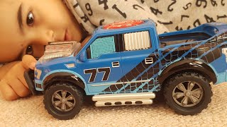 DICKIE Toys Ford F150 Pick Up Music Truck drive forwards and backwards!!
