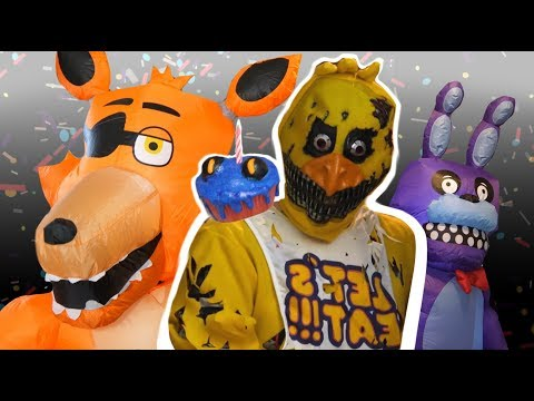 One Crazy FNaF Halloween Party