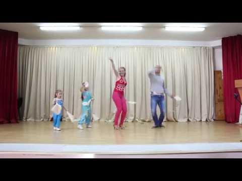 танцор диско (кавер-версия семьи Масалитиных) - Познавательные и прикольные видеоролики