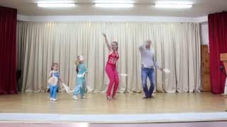�������� ���� танцор диско (кавер-версия семьи Масалитиных) ������