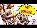 50 Sobres de SOY LUNA lbum de Cromos...