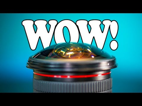 Best BUDGET Ultra Wide Fisheye Lens | MEKE Meike 8mm F3.5