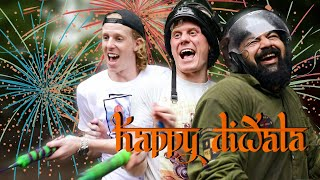 HAPPY DIWALAA!!! | 2 Foreigners In Bollywood