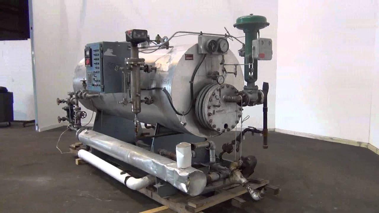 Used Patterson Kelley Series 380 Packaged Unfired Steam To Steam