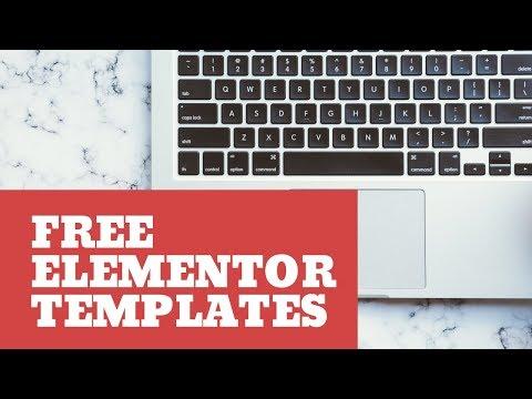 ⭐ 100 Free Wordpress Templates for Elementor