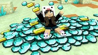 Minecraft: MUNDO DA COELHA #07 - COMO OSTENTAR NO MINECRAFT!