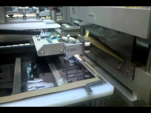 Automated Tab Weld for Thin Film Solar Panels showing Paper Load