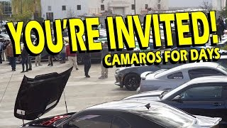 The Biggest ALL Camaro Show in SoCal! All Cars are Welcome