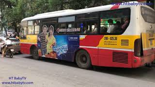 Wheels On The Bus ❤ Xe Buýt Hà Nội 29 🚌 Nursery Rhymes Super Simple Song   HT BabyTV ✔︎