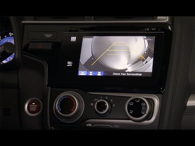 2018 Honda Fit Tips & Tricks: How to Use the Rearview Camera