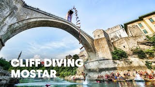 World Class Cliff Diving on the Stari Most Bridge - Red Bull Cliff Diving 2015