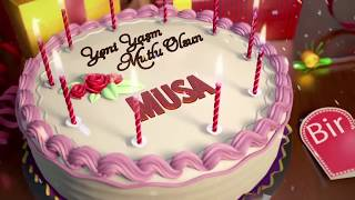 İyi ki doğdun MUSA - İsme Özel Doğum Günü Şarkısı