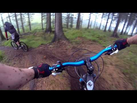 Mountain Biking Mendip Hills 28-06-15
