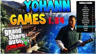 GTA 5 Online pc | NEW JORDAN MENU 1.34 | (no ban) (-patcher)
