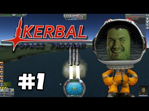 Sips Plays Kerbal Space Program (23/3/18) - #1 - Babby's First Launch