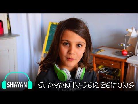 Shayan in der Zeitung , Jetzt bei The Voice Kids 2018