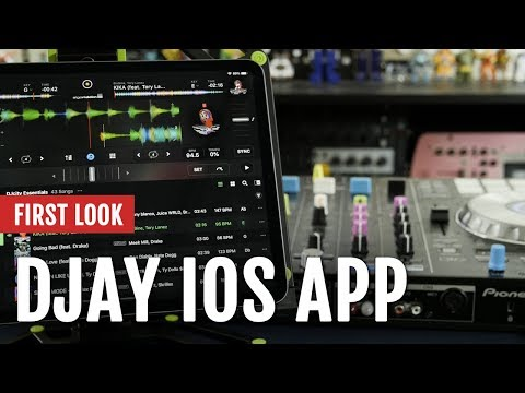 First Look: Algoriddim Djay IOS App | Tips And Tricks