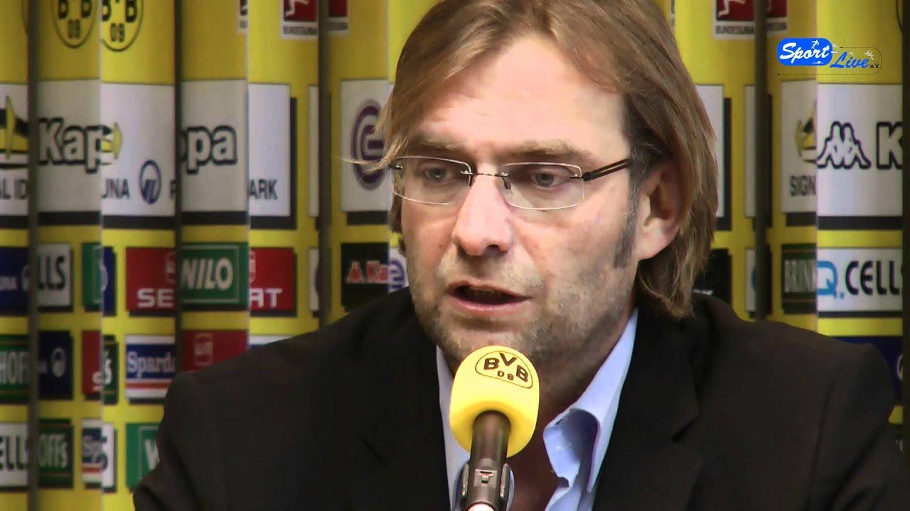 Pressekonferenz Borussia Dortmund zum Bundesligaspitzenspiel in Mönchengladbach (Teil 2)