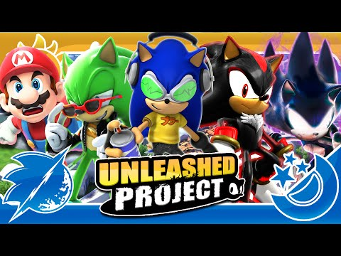 Sonic Generations Unleashed Project & GIVEAWAY (60FPS, 4K Upscaling, Motion Blur)